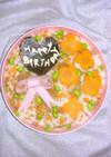 簡単✿誕生日にちらし寿司