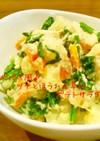 ポパイ風♪ツナとほうれん草のポテトサラダ