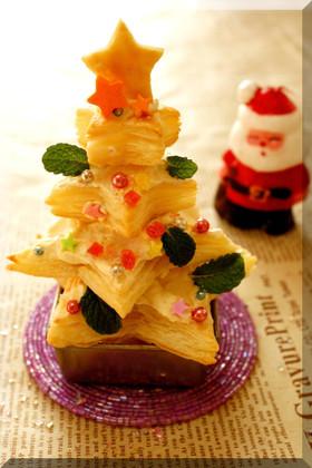 * パイシートで ❤ クリスマスツリー♪