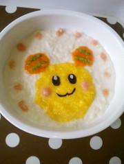 お絵描き☆キャラ離乳食「うーたん」の写真