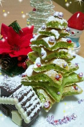 クリスマス★ツリー ケーキ