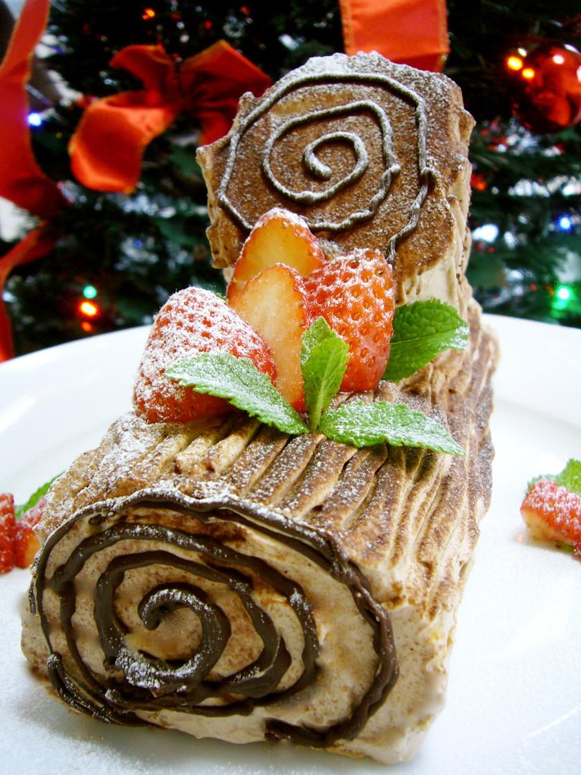 クリスマスケーキ☆HM☆ブッシュドノエル