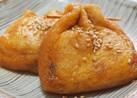 餅チーズ入り巾着の甘辛コチュジャン煮