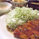 厚切り豚ロースの生姜焼き