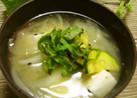 ズッキーニと新玉葱で作る初夏のお味噌汁