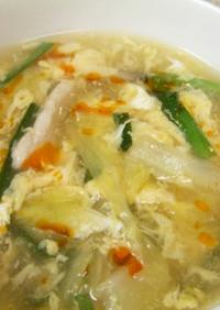 白菜の中華スープ☆酸辣湯風☆