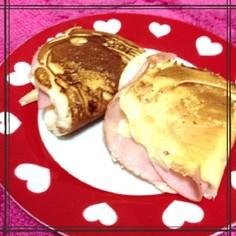 HMで簡単節約♪パニーニ♥朝食に★