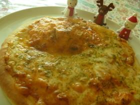 簡単なのに本格的おうちでピザ