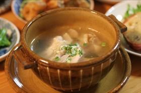 *STAUB*鶏と薬味のぽっかぽかスープ