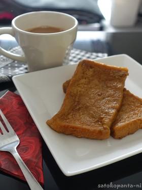 混ぜて焼くだけミルク紅茶フレンチトースト