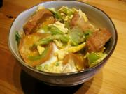 仙台麩とめんつゆで簡単♪ふわふわ油麩丼の写真