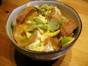 仙台麩とめんつゆで簡単♪ふわふわ油麩丼