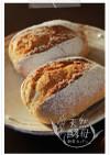 ホシノ酵母朝食丸パン♪ライ麦パン