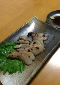 鯛の塩糀昆布じめ