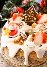 抹茶&ココアマーブルシフォン★クリスマス
