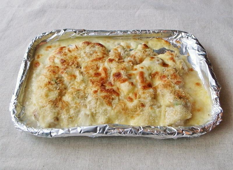 鶏ささみ&チーズのサクサクトースター焼き