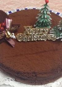 簡単濃厚チョコケーキ(n'∀')η