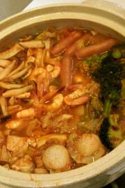 絶品♡トマト鍋の写真
