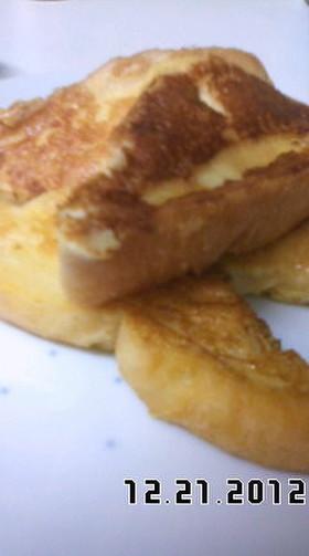 黒砂糖のフレンチトースト