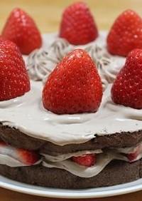米粉☆チョコレートケーキ