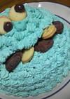市販スポンジ簡単クッキーモンスターケーキ