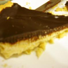 簡単☆二層チョコレートタルト