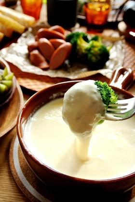 切り餅♡ホットミルクチーズフォンデュ