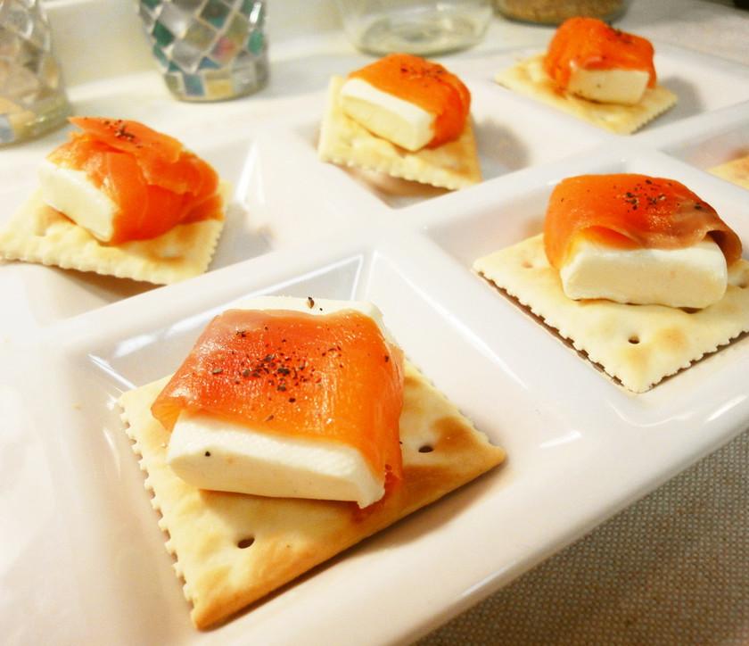 *オードブル*サーモン&クリームチーズ