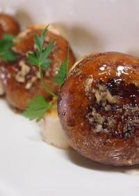 ♡ホタテとジャンボマッシュルームの前菜♡