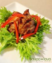 塩麹豚のリヨン風煮込みの写真