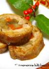 簡単お弁当やお節♬彩チキンロール照焼生姜