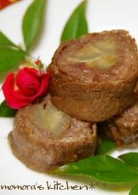 お弁当やおつまみに♬牛肉とゴボウの八幡巻