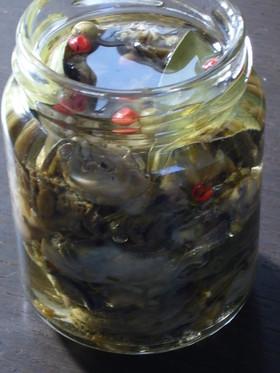 お正月の贅沢保存食 牡蠣のオイル漬け