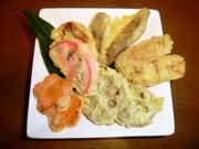 簡単おいしい煮しめ(煮物)の天ぷら~♪の写真