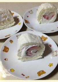 ロールケーキ★低カロリー油不使用卵白消費