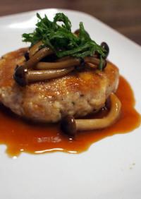 ふわっふわの豆腐ハンバーグ