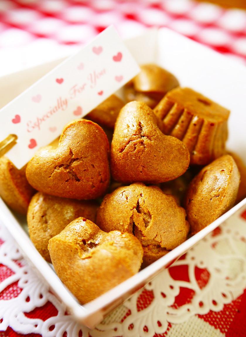 バレンタイン♥ひとくちチョコチーズケーキ
