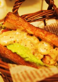 ♡チーズソースのサンドイッチ♡