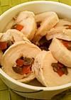 ◆簡単♡絶品♡しっとり塩鶏の野菜巻き◆