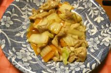 豚と白菜の中華炒め