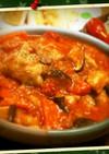 鶏肉ときのこのトマト煮