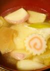 お雑煮に飽きたら☆中華スープ餅!