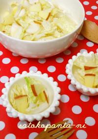 白菜とリンゴの簡単サラダ♡