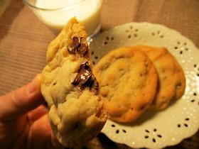 しっとりチューイー♪チョコチップクッキー