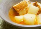 長芋と厚揚げのぽかぽかスープ