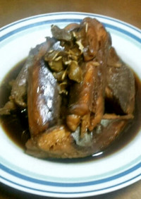 旨い柔らかい…俺流のサメの生姜甘辛煮