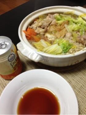 簡単であったまる水炊き鍋☆