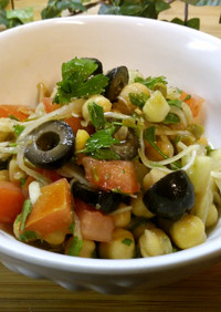 ひよこ豆のマリネサラダ