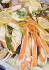 満喫♬艶姿海鮮酒蒸し鍋☆ホットプレートで