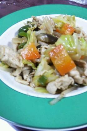 野菜たっぷり♪野菜炒め